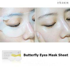 Die *Butterfly Eyes Mask Sheet* von IT'S SKIN ist eine Hydrogel-Augenmaske und wurde speziell für die empfindliche Augenzone entwickelt. Sie versorgt die empfindliche Augenpartie optimal mit Feuchtigkeit und verbessert die Hautelastizität. Für strahlende Augen! Zum Produkt: https://www.seemyskin.de/augenpflege/augenmaske/48/it-s-skin-butterfly-eyes-mask-sheet #seemyskin #itsskin #itsskindeutschland #augenmaske #koreanischekosmetik #asiatischekosmetik #masksheet #sheetmask #kbeauty