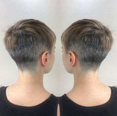 Stylish Hair Color with Pixie Hairstyles Very Short Haircuts, Latest Short Hairstyles, Pixie Hairstyles, Super Short Hair, Short Hair Cuts, Short Hair Styles, Pixie Haircut 2016, Popular Haircuts, Hair Styles 2016