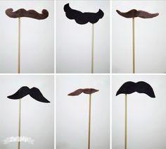 Imaginez votre tante Mireille avec une moustache...  Quoi ? Elle en a déjà une ?   Bon alors imaginez votre petite cousine Clara avec une mo...