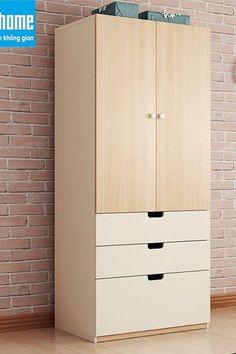 Sở hữu một sản phẩm mang phong cách hiện đại với mức giá hợp lý là những gì bạn có thể tìm thấy được ở mẫu tủ quần áo hiện đại giá rẻ GHS-5388. Tủ quần áo được làm từ chất liệu gỗ công nghiệp lõi xanh cao cấp chống được mối mọt, ẩm mốc, phù hợp với điều kiện thời tiết tại Việt Nam. Sản phẩm được phân phối tại mọi cửa hàng thuộc Nội thất Go Home. Clothes Cabinet Bedroom, Bedroom Cupboard Designs, Bedroom Cupboards, Wardrobe Door Designs, Wardrobe Design Bedroom, Closet Designs, Teen Room Decor, Home Office Decor, Home Decor Bedroom