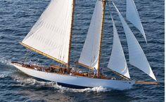 Adventuress, classic Fife design schooner