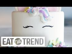 Of course unicorn cakes are a thing, and they're actually easier than you might think thanks to this tutorial