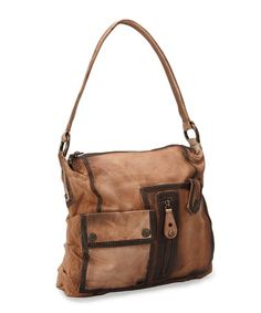 Look what I found on #zulily! Brown Winnie Shoulder Bag by Latico Leather #zulilyfinds