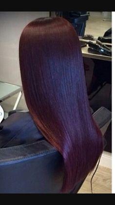 Egg plant plum Plum Hair, Violet Hair, Burgundy Hair, Purple Hair, Neon Hair, Turquoise Hair, Curly Hair Styles, Natural Hair Styles, Crazy Hair