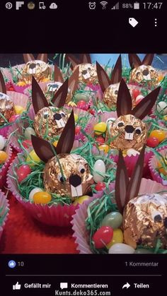 Ferrero Hasen im Nest Ferrero Hasen im Nest The post Ferrero Hasen im Nest appeared first on Geschenke ideen. crafts with candy Ferrero Hasen im Nest - Geschenke ideen Easter Candy, Easter Treats, Easter Gift, Happy Easter, Easter Eggs, Easter 2018, Candy Crafts, Easter Activities, Easter Dinner