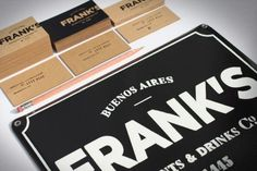 identity design from Fbdi in Buenos Aires. Typography Design, Branding Design, Logo Design, Print Design, Graphic Design, Stationery Paper, Stationery Design, Diy Valentine's Treat Bags, Diy Valentine's Treats