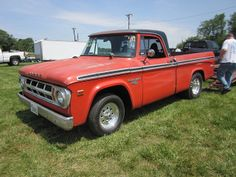 1968 Dodge Truck | 1968 Dodge D100 Short Bed Pickup-Parting Out For