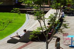TCL_Monash-Uni-Caulfield-Campus-Green_Andrew-Lloyd-01 « Landscape Architecture Works | Landezine
