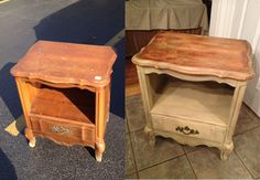 We can help you revamp that old furniture!  artsylizzie's #diy nightstand makeover fromPlanItDIY.com