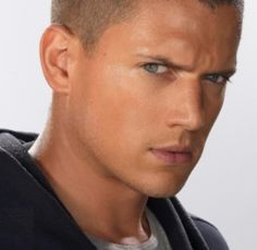 Wentworth Miller as Michael Scofield.. my white boyyyy♥♥