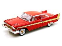 1958 Plymouth Fury 1/18 Red