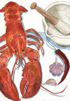 Lobster Romesco