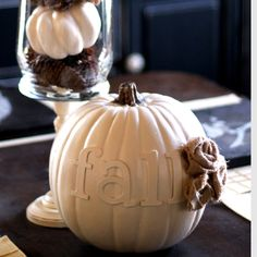 DIY pumpkin @Brittnee Collins