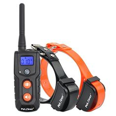 Petrainer PET916N2 330 Yards Rechargeable and Waterproof Vibrating Collar, NO STATIC SHOCK ** Check out this great product.