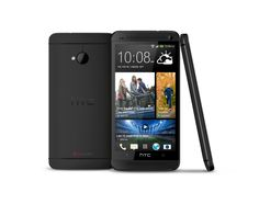 The new HTC One in black