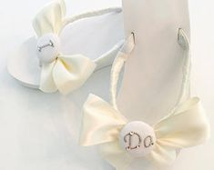 I DO Wedding Flip Flops.Wedges.Bride IDo Sandals. Wedding Shoes.Beach Wedding Shoes. Bridesmaid Sandals. Bride Sandals.