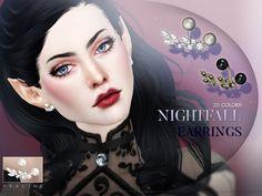 Pralinesims' Nightfall Earrings