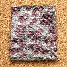 Opskrift på iPad sleeve, leopard | Yarnfreak