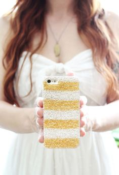 Make your own beaded iPhone case
