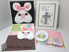 Creative Paper Treasures: Easter Cards