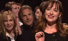 Dakota Johnson hosts Saturday Night Live as parents cheer her on
