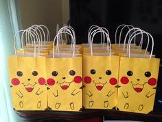 Pokemon picachu goodie bags