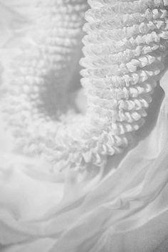 Arimatsu Shibori - fabric manipulation; white textures; experimental textiles design
