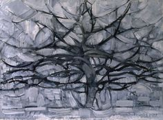 Gray Tree - Piet Mondrian, 1911