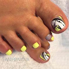 Super Ideas For Pedicure Designs Nailart Toe Toenail Art Designs, Pedicure Designs, Pedicure Nail Art, Toe Nail Art, Toe Designs, Pretty Toe Nails, Cute Toe Nails, Fancy Nails, My Nails