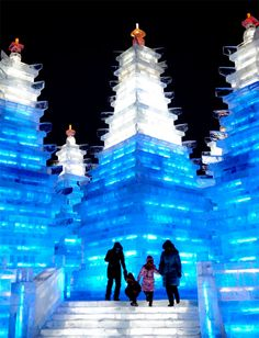 Harbin Ice and Snow Sculpture Festival - Harbin, China | Fest300 #IceSculpture #IceFestival