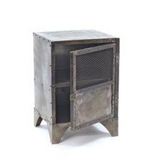 Steel Vintage Steel Shoe Locker Go Home Storage Units Storage & Organization Home Decor