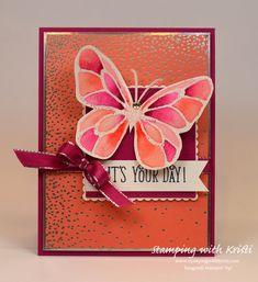 Stampin' Up! Beautiful Day card by Kristi @ www.stampingwithkristi.com