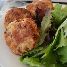 """Chicken and Feta Burgers 