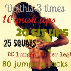This workout is no joke! #Workout