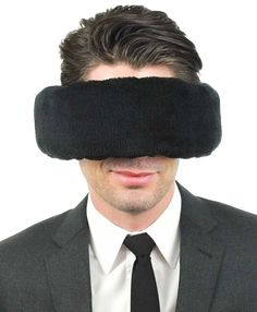 Travel Pillow, Sleep Mask & Ear Muff in One