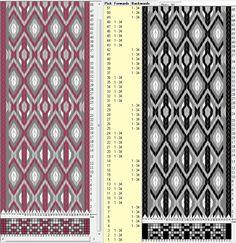 34 tarjetas hexagonales, 4 colores, 2 esquemas // sed_516_c6 diseñado en GTT༺❁