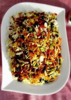 Persian Jeweled Rice - I've had this before and it's SO GOOD!