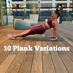 10 different plank exercise, plank workout for women, plank abs workout at home - Fitness - workouts - Fitnesstipps Plank Ab Workout, Ab Workout At Home, At Home Workouts, Dumbbell Workout, Stairmaster Workout, Easy Workouts, Hiit Workout Plan, Abdominal Workout, Flat Tummy Workout