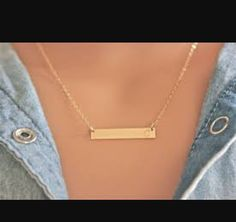 Come in and get yours today !! The everyday necklace !