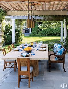 A Hamptons Getaway Designed for Outdoor Living Photos | Architectural Digest