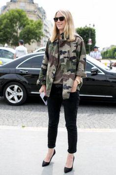 Street looks défilés haute couture : en mode camouflage