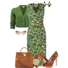 Kors Floral Dress
