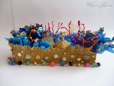 "Gallery.ru / Коктейль ""Коралловый Риф"" - Морской мир - Ryazanochka-II"