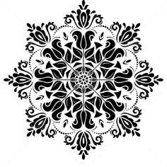 Orient Vector Pattern