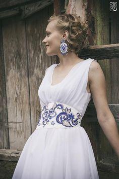Prvé lastovičky z novej kolekcie pre leto 2014 / bazu / SAShE. Grad Dresses, Wedding Dresses, Pretty Dresses, Fabric Design, Wedding Inspiration, Design Inspiration, Wedding Ideas, Hippy, Boho Chic