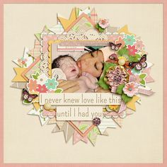 Template from Catbird Seat : Solo by Zoliofrope http://www.sweetshoppedesigns.com/sw...t=0&page=1 A Mother's Heart by Amber Shaw  Font Pea L...