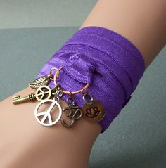 Yoga Wrap Bracelet Ready to Ship Circle of Life by studiovdesigns