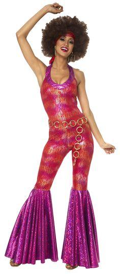 70S Disco Fashion | Foxy Lady Disco Costume - Disco Costume