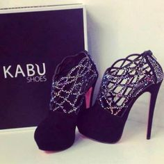 I will never in my life have anywhere to wear these to but I'd buy them just to stare at them all day!
