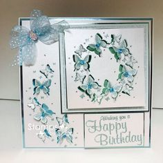 Paper Butterflies, Butterfly Cards, Flower Cards, Chloes Creative Cards, Stamps By Chloe, Crafters Companion Cards, Birthday Cards For Women, Friendship Cards, Card Making Techniques